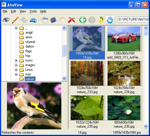 AhaView v1.1 Screenshot