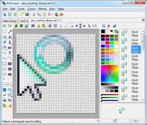 cursor, cur, ani, animated, edit, make, create, artcursors, aha-soft,  editor, m