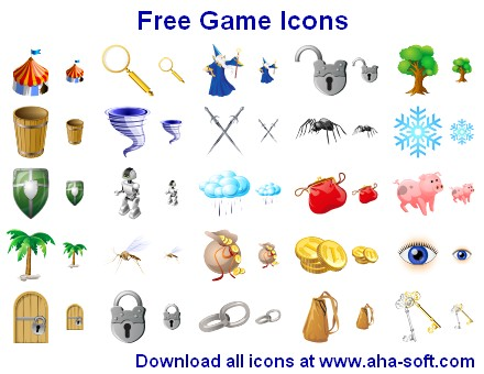 Click to view Free Game Icons 2011.1 screenshot