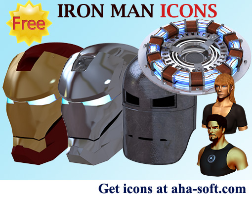 Windows 7 Iron Man Icons 2013.2 full