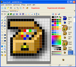 Click to view Icon Profi 5.46 screenshot