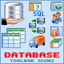 Download Database Toolbar Icon Set