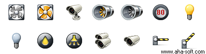 Meridian Traffic Management Icons