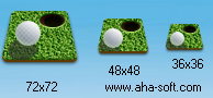 Mini Golf Android Icon