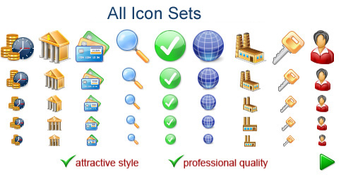 All Icon Sets Screenshot