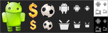 Android icons bundle