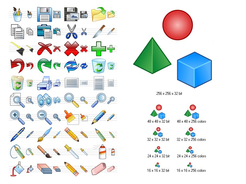 Click to view Graphic Icon Set 2011.1 screenshot
