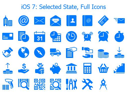 Singularity Icons For IOS 7