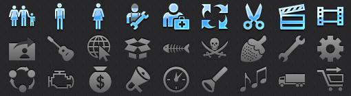Mobile Tab Bar Icons